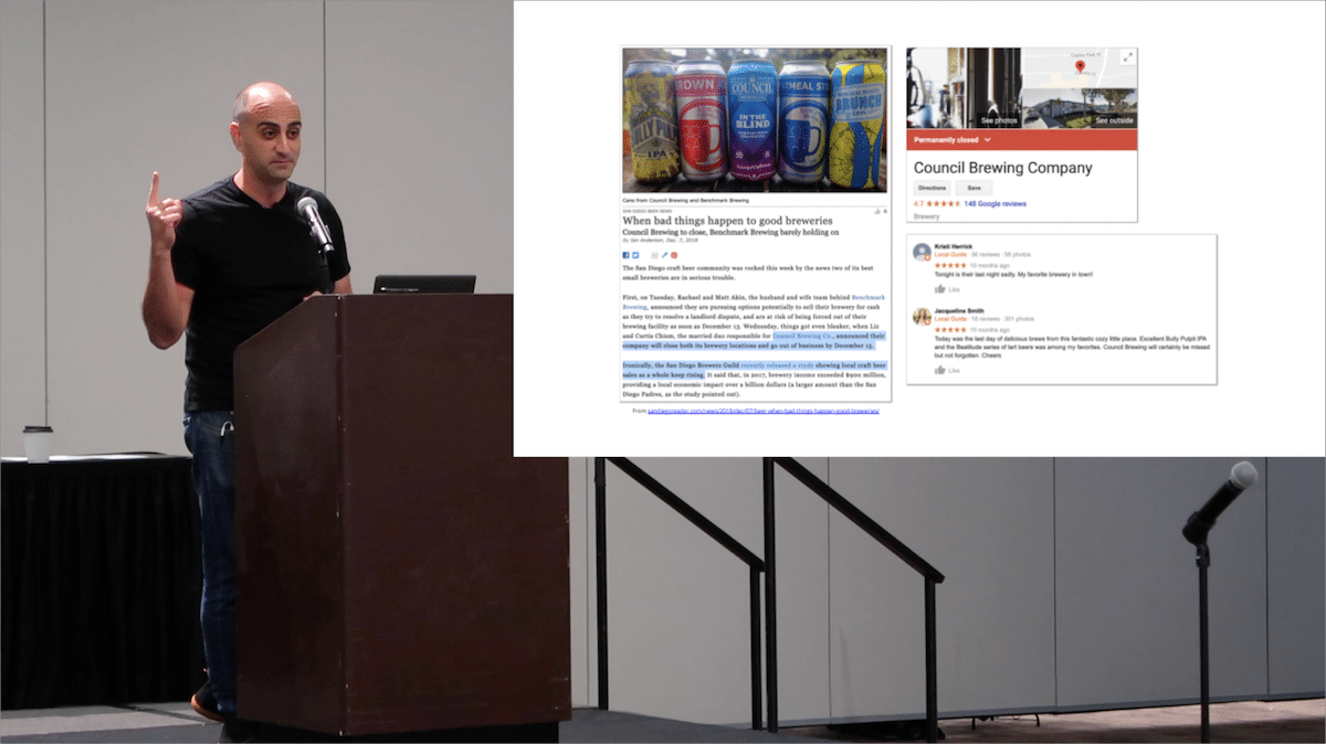 nc craft brewers conference presentation image